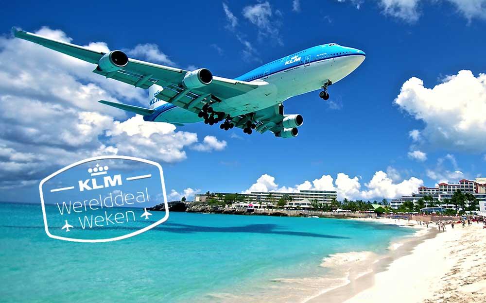 Wanneer zijn de KLM Werelddeal Weken in 2017?