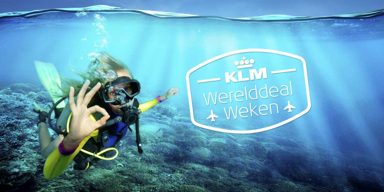 KLM Werelddeal Weken 2018