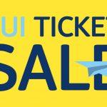 TUI Ticket Sale 2017 | goedkope vliegtickets vanaf €69,- per persoon!