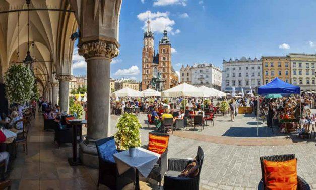 Goedkope stedentrip Krakau   3-daagse citytrip juni 2017 €139,- p.p.