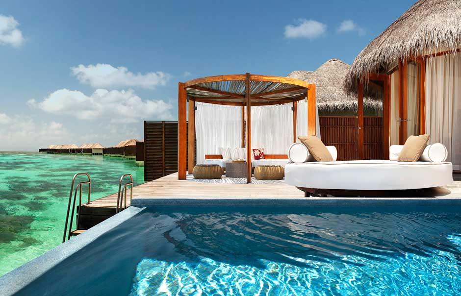 is dit het meest luxe resort op de malediven 5 hotel w. Black Bedroom Furniture Sets. Home Design Ideas