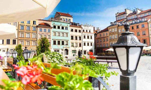 Goedkope stedentrip Warschau   3 dagen incl. vlucht €95,- p.p.