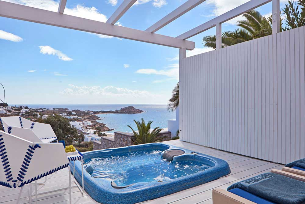 Top 5 mooiste hotels resorts van griekenland - Jacuzzi aire libre ...