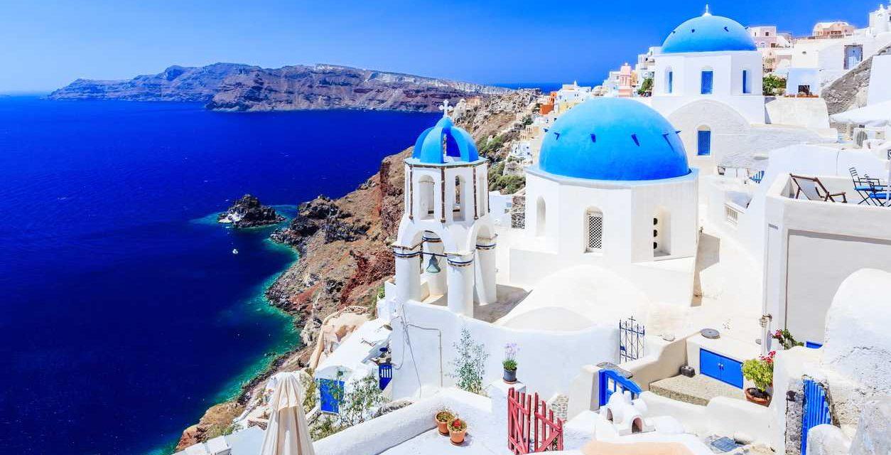 Lovely 4* Santorini   8 dagen juni 2018 €469,- per persoon