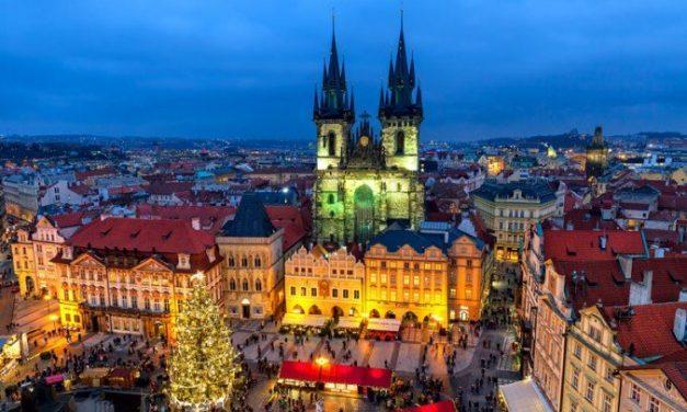 Christmas shopping @ Praag   3 dagen december 2017 €139,- per persoon