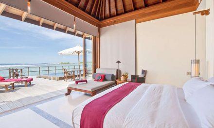 Super-de-luxe 5* Malediven + halfpension   9 dagen juni 2018 €1376,- p.p.