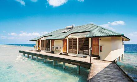 Super luxe Malediven aanbieding   volpension 9 dagen €1177,- p.p.