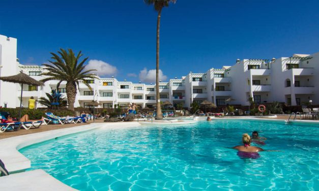 Sunshine Lanzarote halfpension deal | 8 dagen = €388,- p.p.