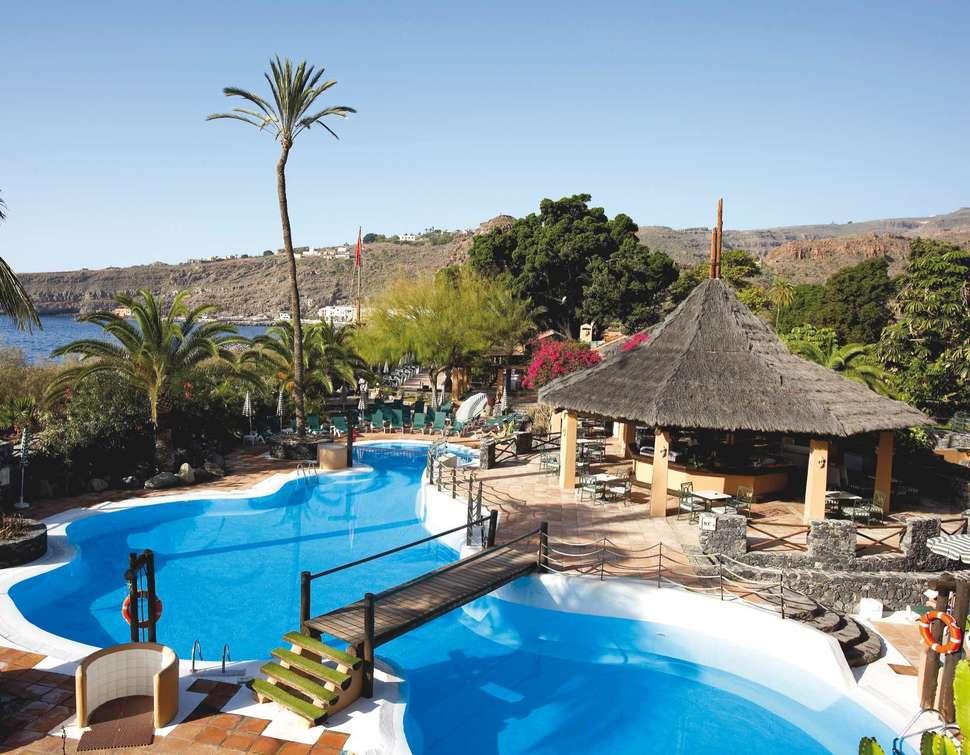 Luxe 4 la gomera aanbieding halfpension 8 dagen 673 for Hotel jardin tecina la gomera