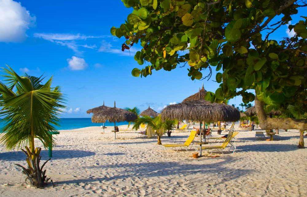 Laatste kamer! Complete 9-daagse vakantie Aruba €799,-   Januari 2020