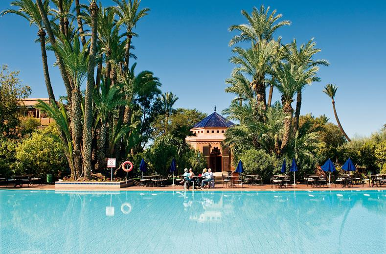 Super luxe 4* RIU Marrakech | all inclusive 8 dagen €566,- per persoon