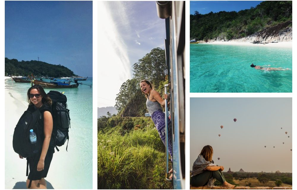 Gastblogger Jazzy maakt samen met haar vriend Mark een wereldreis