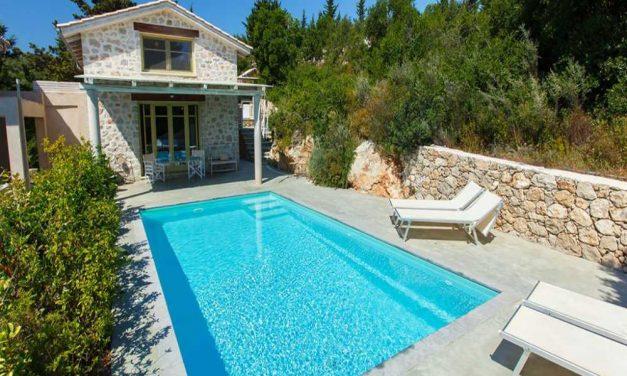 5* villa Lefkas | incl. privé zwembad & huurauto voor €515,-