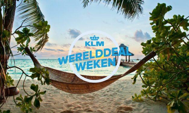 KLM Werelddealweken 2019 | Wanneer? Je kunt NU boeken!