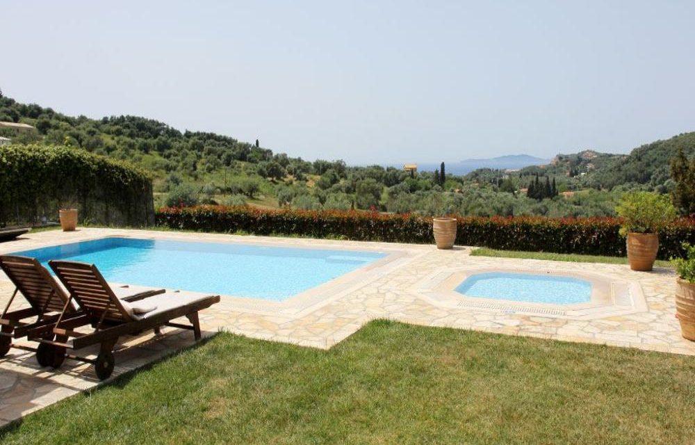 4* vakantie Corfu | Villa met privé zwembad + huurauto voor €455,-