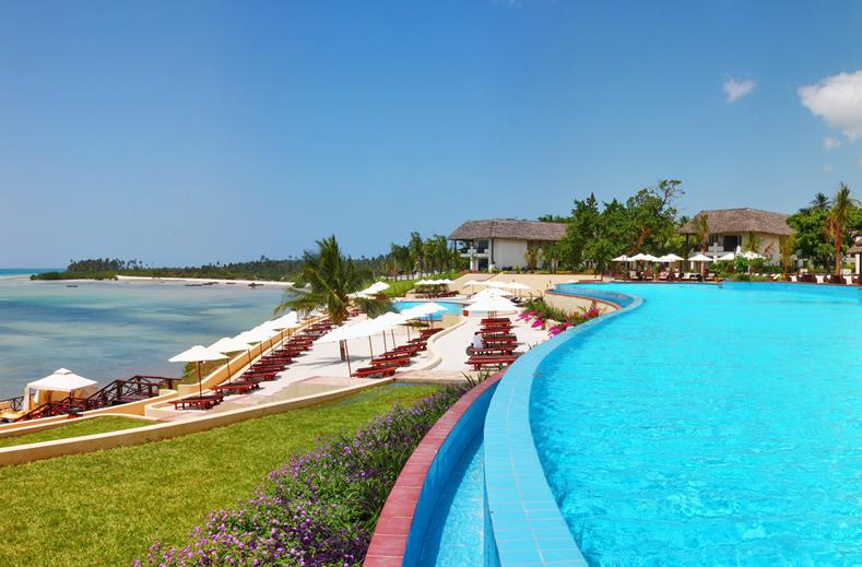 5* vakantie Zanzibar   inclusief ontbijt & diner €799,- per persoon