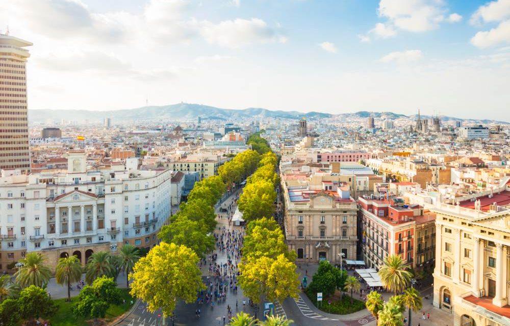 Dagen barcelona voor u ac p p vlucht goed en centraal