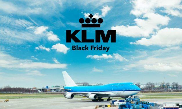 KLM Black Friday 2020 | Extra veel korting op vliegtickets!