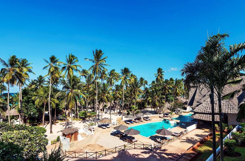 Super-de-luxe Zanzibar | 4* all inclusive aan 't strand €1099,- p.p.