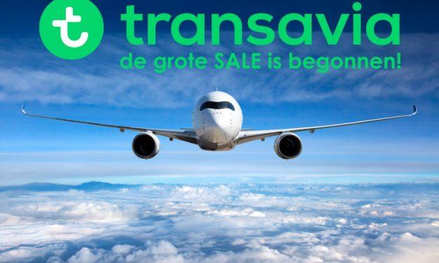 De grote Transavia SALE 2020 is gestart! | Vliegtickets v/a €19,-