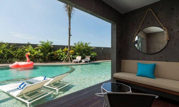 4* luxe in 't hippe Canggu @ Bali | super last minute €591,- per persoon
