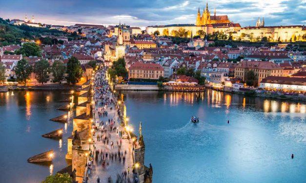 4-daagse stedentrip naar Praag   €131,- p.p. in november 2019