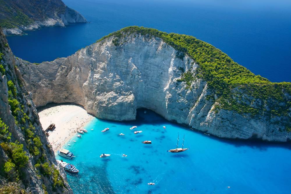 mooiste griekse strand shipwreck