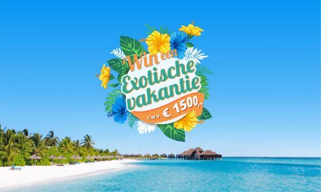 Win een exotische vakantie t.w.v. €1500,- | Prijsvrij & VakantieDealz