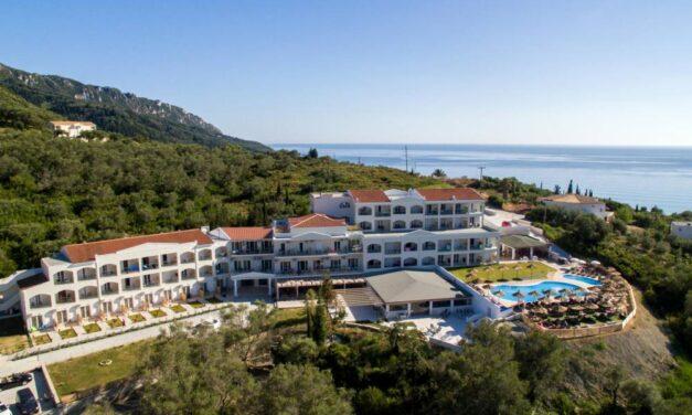 Fijn nazomeren in 4* hotel @ Corfu   8 dagen all incl. €379,- P.P.