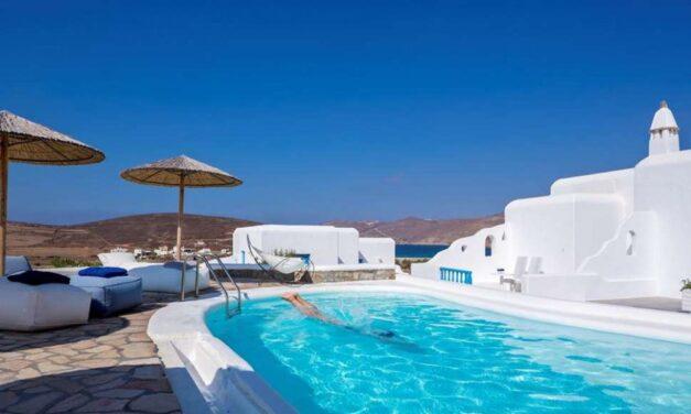 Last minute Mykonos €491,- | 4* hotel met uitzicht op zee & ontbijt