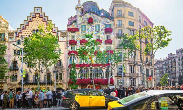 Lang weekend Barcelona | vlucht + centraal hotel (8,3/10) €187,-