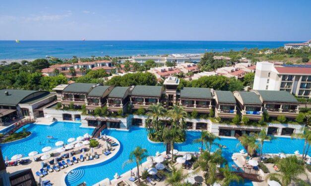 5* Super luxe Turkije €491,-   All inclusive TOP strandresort (9,1/10)