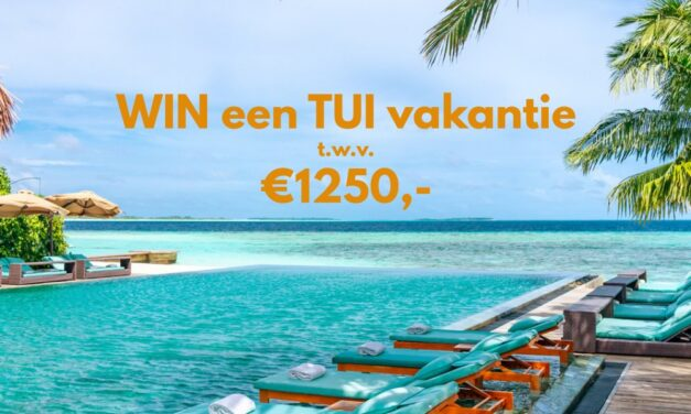 Win een TUI vakantie t.w.v. €1250,-