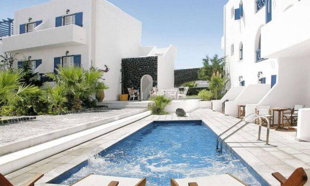 Super-de-luxe 5* Santorini deal   8 dagen incl. ontbijt & meer nu €452,-