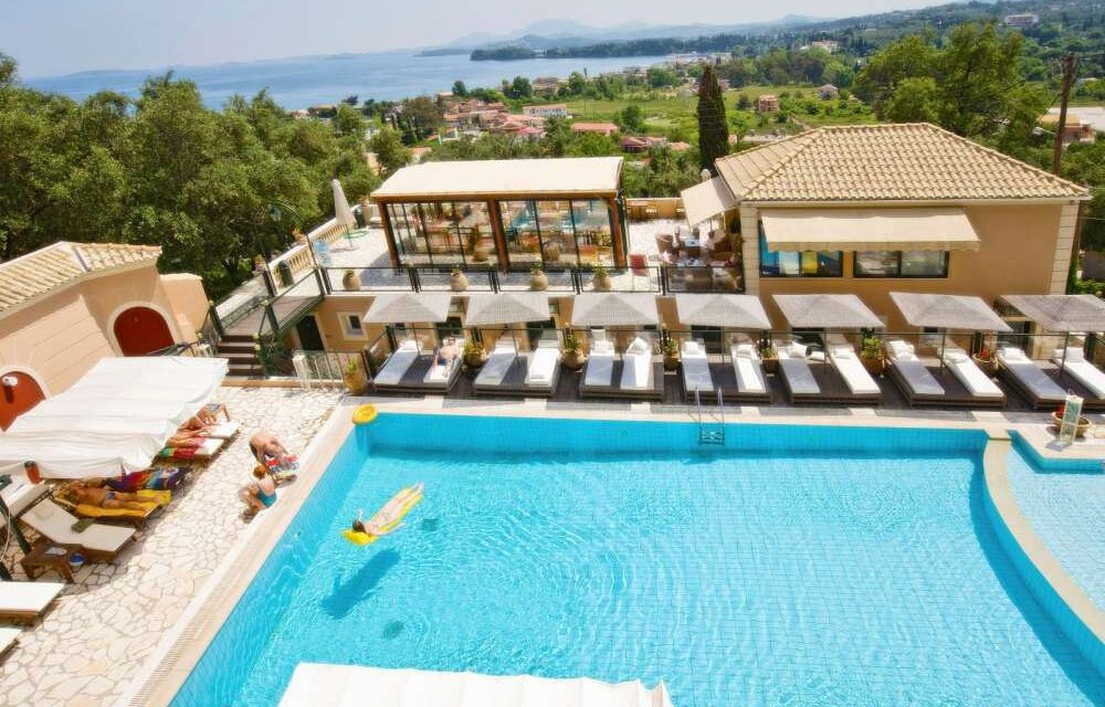 WOW! 9 dagen genieten @ Corfu   Vluchten + 4* verblijf €173,- p.p.