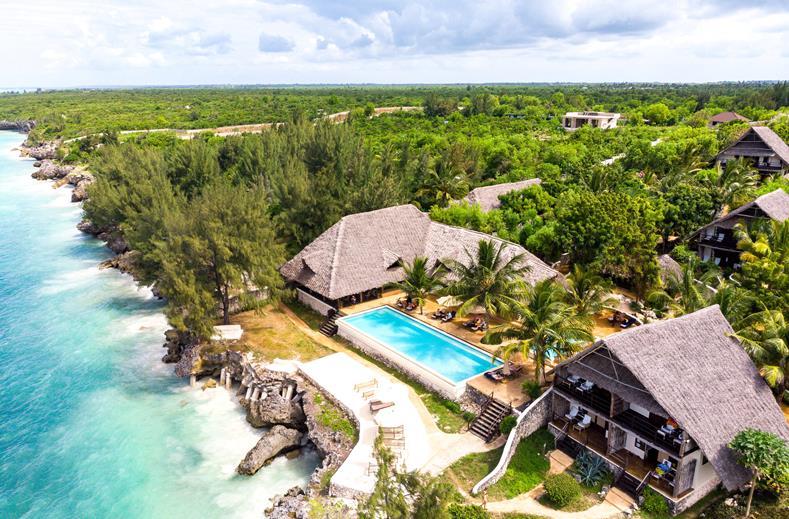 4* Luxe op bounty Zanzibar | Incl. kleinschalig hotel aan zee €869,- p.p.