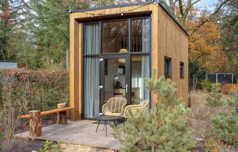 Cool! Tiny House op de Veluwe | Midweek weg v/a slechts €182,- p.p.