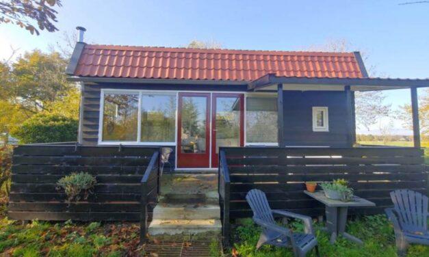 Tiny house 4 personen in Drenthe | Zomervakantie 2020 nu v/a €59,-