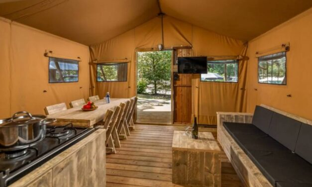 6-persoons luxe safaritent in Limburg | September 2020 vanaf €290,-