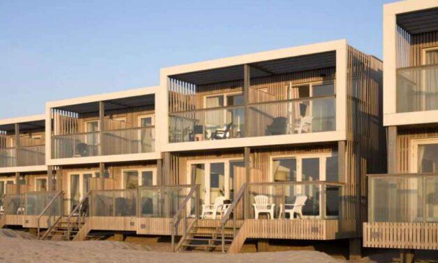 Overwinteren aan 't strand @ Hoek van Holland | Beach villa vanaf €64,-