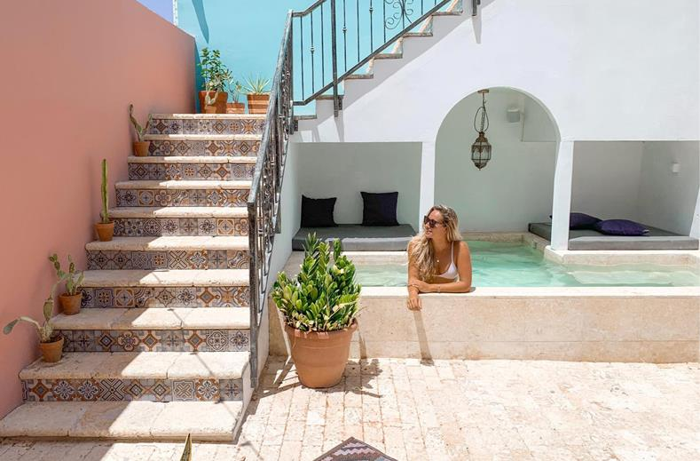 Last minute Curacao aanbieding | Tof Boho Bohemian Boutique hotel €549,-