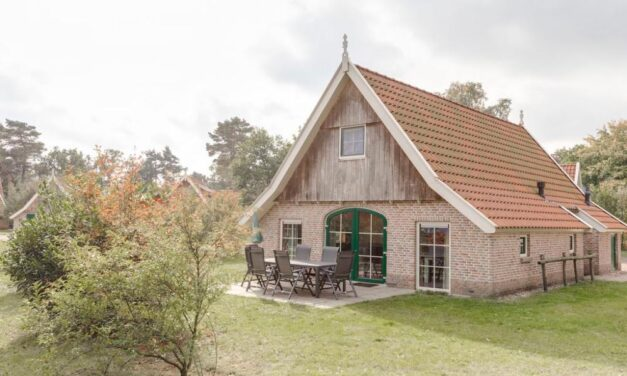Luxe bungalow (6p) incl. sauna in Overijssel | Midweek met 26% korting