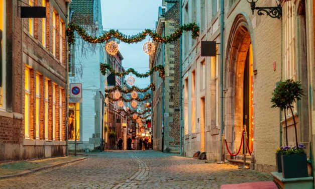 Maastricht in de kerstvakantie €99,- | 3 dagen incl. ontbijt & diner