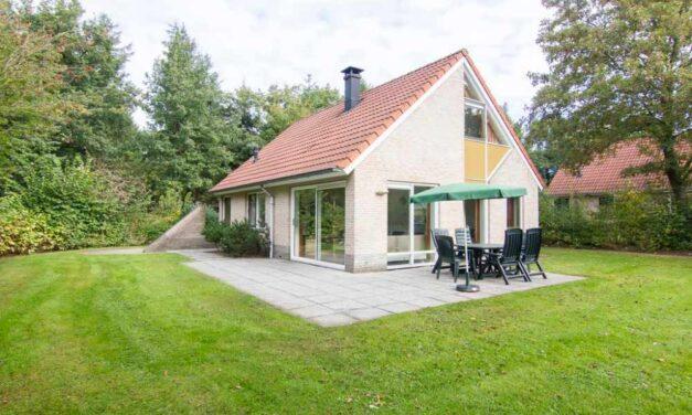 Vrijstaande bungalow (6p) in Drenthe | Super last minute 40% korting
