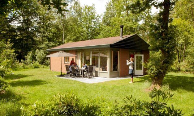 Vrijstaande bungalow in de natuur   Midweekje nu met 37% korting