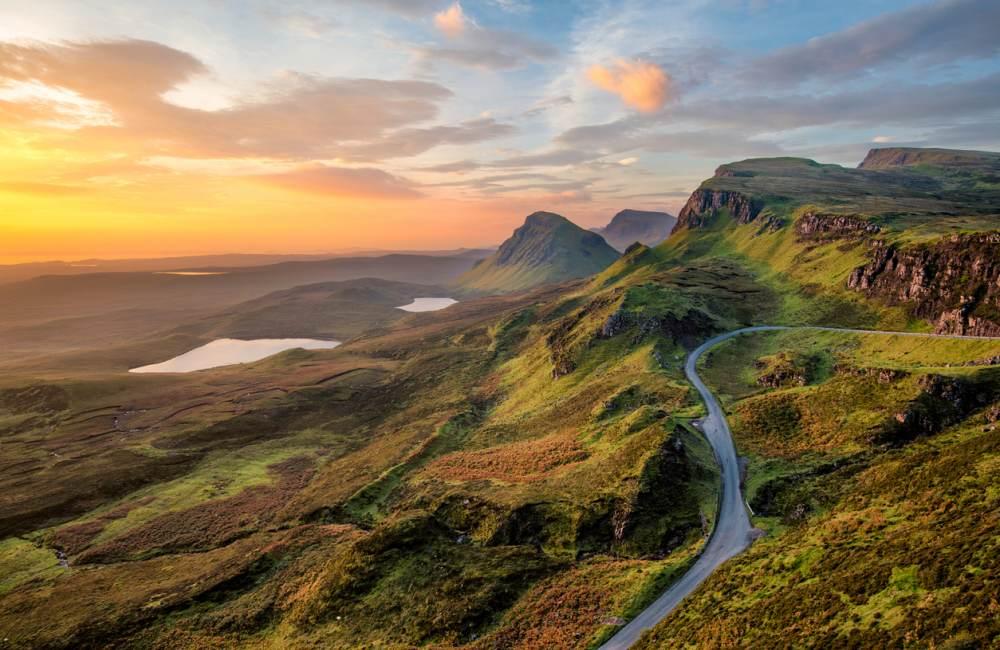Schotland fly & drive bestemming