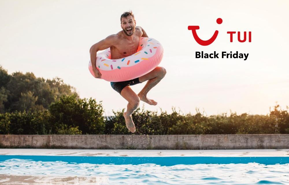 TUI Black Friday 2020 | NU van start | tot €100,- extra korting!