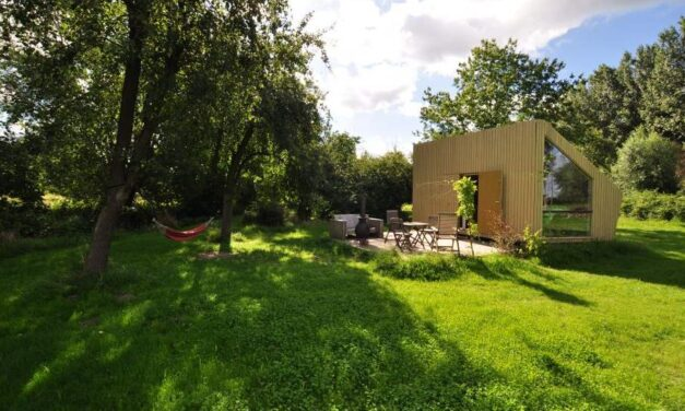 Tiny house in de natuur van Noord-Brabant | Nachtje weg voor €75,-