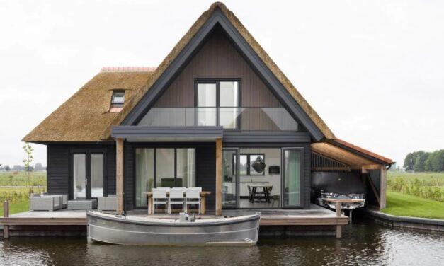 Wow! Luxe watervilla (6p) Overijssel | IN de kerstvakantie €61,- per persoon