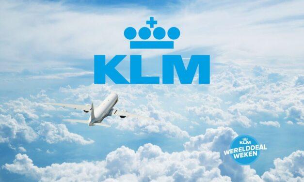 KLM Werelddeal Weken 2021 | De SALE is van start gegaan!